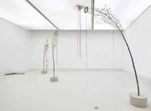 <i>liberty and tree</i>, 2019 </br> installation view, kunsthalle mainz