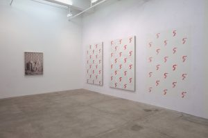 cyclist. fig 2 ep. 1, installation view, kaufmann repetto, new york, 2014
