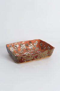 <i>untitled</i>, 2003 </br> glazed ceramic, 5 x 20,3 x 16,5 cm / 2 x 8 x 6.5 in
