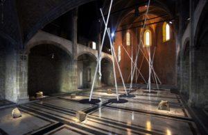 <i>la ronda</i>, 2010 </br> installation view, capella, macba, barcelona