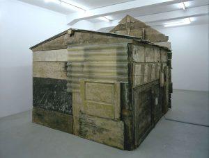 cappella pasolini, installation view, maxxi, 2005, various media, 390 x 300 x 320 cm / 153.5 x 118.1 x 126 in