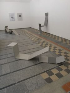 untitled 1-3, 2010 wood, lacquer, 150 x 170 cm / 59 x 66.9 in