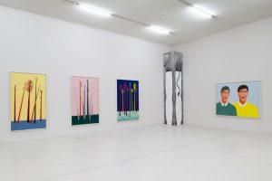 <i>trunks and faces</i>, 2014 </br> installation view, westfälischer kunstverein, münster