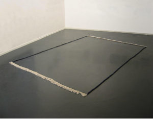 <i>Frame (dark blue)</i>, 2010