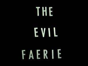 <i>the evil faerie</i>, 2007  </br> video, color, sound, 1'12''
