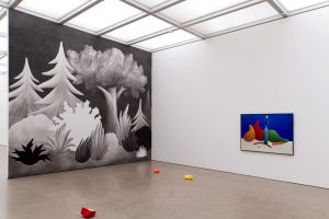 <i>malerei im raum</i>, 2013 </br> installation view, museum folkwang, essen