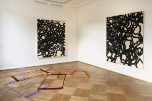 <i>partitas</i>, 2009 </br> installation view, bielefelder kunstverein, bielefeld