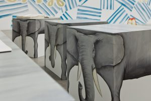 <i>still lifes, stones and elephants</i>, 2012