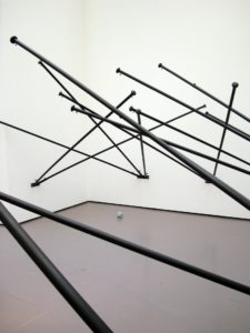 <i>fantasia (empty flag)</i>, 2008 </br> installation view, kunsthaus zurich, zurich