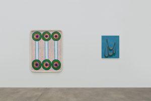 <i>hubris, pubis, scatis</I>, 2018 </br> installation view, kaufmann repetto, new york
