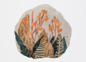 <i>untitled</i>, 2017 </br> glazed ceramic, 9,5 x 19,7 cm / 3.7 x 3.8 in