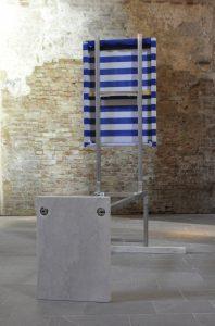 <i>Uno più uno uguale tre</i>, 2014 </br> installation view, museo archeologico san lorenzo, cremona