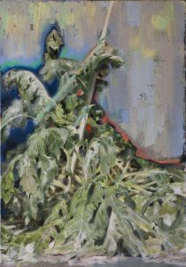 <i>untitled</i>, 2014 </br> oil on canvas, 100 x 70 cm / 39.4 x 27.5 in