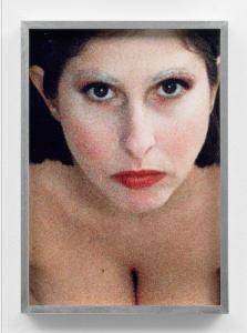 self-portrait (corey tippin make-up #1), 2017, tintenstrahldruck, 35,5 x 25 cm / 13.9 x 9.8 in