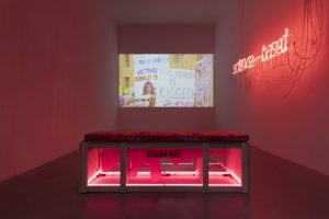 <i>disrupting and resisting</i>, 2018 </br>  installation view, kaufmann repetto, milan