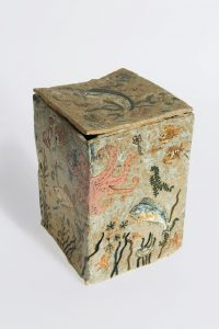 <i>untitled</i>, 2009 </br> glazed ceramic, 23,8 x 15,8 x 16,8 cm / 9.3 x 6.2 x 6.6 in