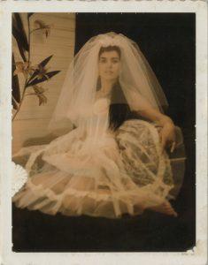 <i>untitled</I>, 1960's </br> polaroid, 10 x 8 cm / 3.9 x 3.2 in