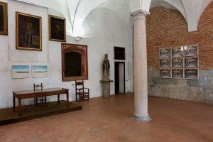 the guardians, installation view, chiostri di sant'eustorgio, milano, 2017, photo by andrea rossetti