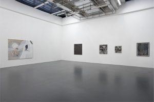 the inevitable figuration: a scene of painting today, installation view, centro per l'arte contemporanea luigi pecci, prato, 2013