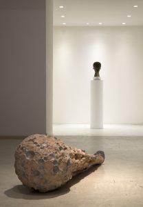 <i>Nonostante questo buio</i>, 2018 </br> installation view, spazio siena, siena