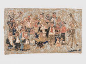 <i>untitled</i>, 1999 </br> glazed ceramic, 22,2 x 36,8 cm / 8.7 x 14.5 in
