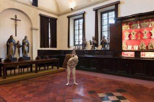 <i>the guardians</i>, 2017 </br> installation view, chiostri di sant'eustorgio, milan