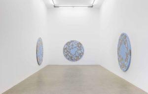 <i>underneath</i>, 2017 </br>  installation view, kaufmann repetto, milan