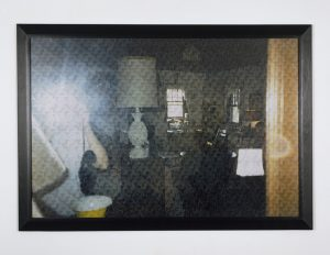 <I>looking for time (quogue)</I>, 2007  </br> layered cut-outs photographs, 100 x 150 cm / 39.4 x 59 in
