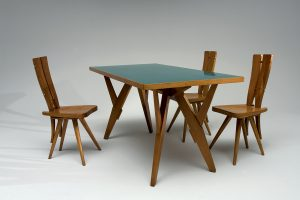 <I>table and chairs for casa del sole</I>, 1953