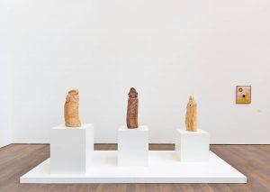 <i>etel adnan et les modernes</i>, 2019 </br> installation view, mudam, luxembourg