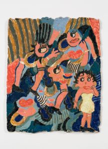 <i>untitled</i>, 2016 </br> glazed ceramic, 32,3 x 26 cm / 12.7 × 10.2 in