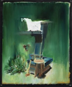 <i>untitled</i>, 2012 </br> oil on linen, 60 x 50 cm / 23.6 x 19.7 in