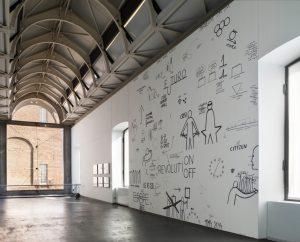 <i>intenzione manifesta, drawing in all its forms</I>, 2014