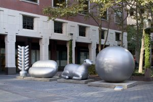 soft futures (price has no memory), installation view, public art fund, metrotech center, brooklyn, 2010