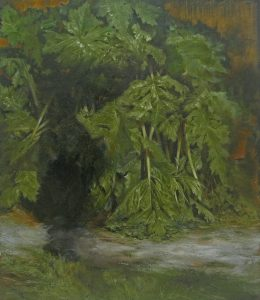 <i>untitled</i>, 2012 </br> oil on canvas, 60 x 50 cm / 23.6 x 19.7 in