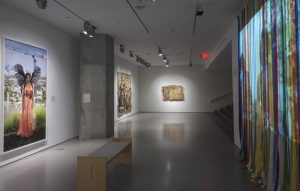 <i>womxn workers of the world unite</i>, 2018 </br> installation view, contemporary arts center, cincinnati