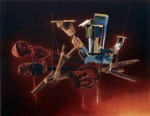 <i>untitled</i>, 2008 </br> oil on canvas, 190 x 245 cm / 74.8 x 96.4 in