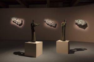 simone fattal, installation view, luogo e segni, punta della dogana, 2019, photo: andrea rossetti
