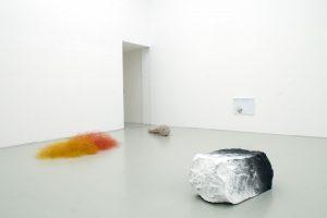 <i> finalmente solo / enfin seul</i>, 2014 </br> installation view, musée d'art moderne et contemporain de saint-etienne métropole, saint-etienne