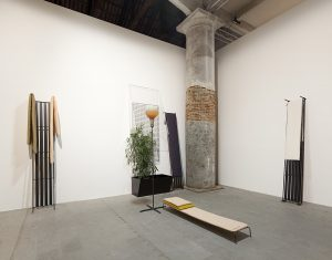 <i>that is the last item on this list: a glass of anger, </i> 2015 </br> installation view, 56th biennale di venezia, venice