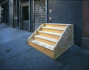 nowhere for nothing (new york stoop), 2007 - ongoing