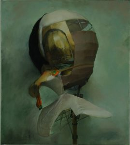 untitled, 2007, oil on canvas, 68 x 61 cm / 26.8 x 24 in
