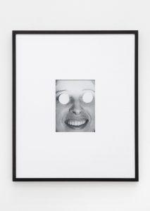 <i>mirror eyes</i>, 2016 </br> framed inkjet print, 51 x 56 cm / 20 x 22 in