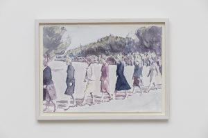 <i>the procession</i>, 2017