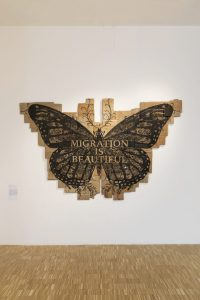<i>papillon monarque (migration is beautiful)</i>, 2017 