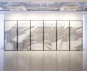 <i>no olvidado (not forgotten), nos. 4-9</I>, 2017 