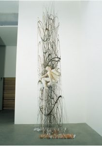 zoo age 5, 2002, cut photograph, 10 x 125 cm / 3.9 x 49.2 in