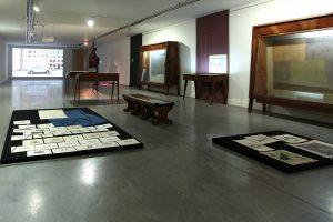 <i>re: museum-zeitgenössische kunst aus deutschland, georgien, armenien und aserbaidschan, </i> 2014  </br> installation view, the national gallery, tbilisi
