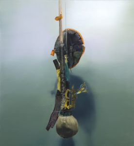 untitled, 2005, oil on canvas, 135 x 125 cm / 53.1 x 49.2 in