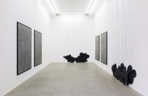 latifa echakhch, there's tears, installation view, kaufmann repetto, milan, 2015